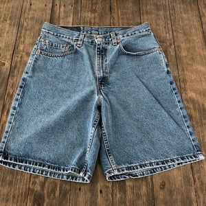 Vintage Levi's 550 Relaxed Fit Jean Shorts Bermuda